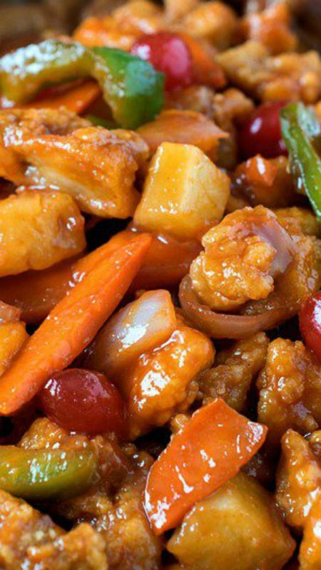 Sweet and Sour Chicken ~ A delicious make-at-home version that rivals takeout! No need to shop at a specialty market - our recipe uses ingredients you probably already have at home.