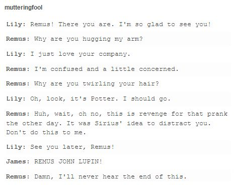 Remus and Lily