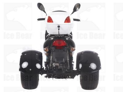 49cc scooters, 50cc scooters, 150cc scooters to 400cc Gas Scooters for sale , Street Legal Mopeds, Motorcycles, Go Karts, 4 Wheelers, Utility Vehicles, - CMS 3 Wheel 49cc | 50 BULLS EYE Trike Moped | Gas Motor Scooter - FREE SHIPPING for Sale ( MP 12068 )