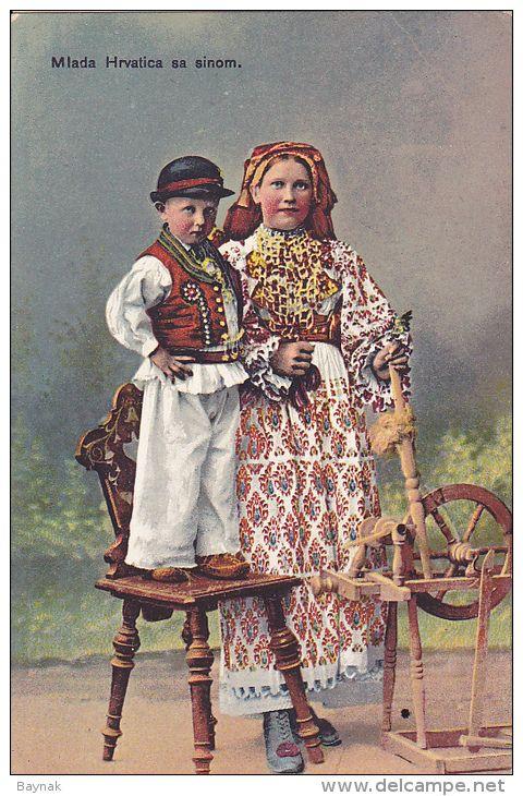 Croatia, Turopojle, croatia costume - Delcampe.net