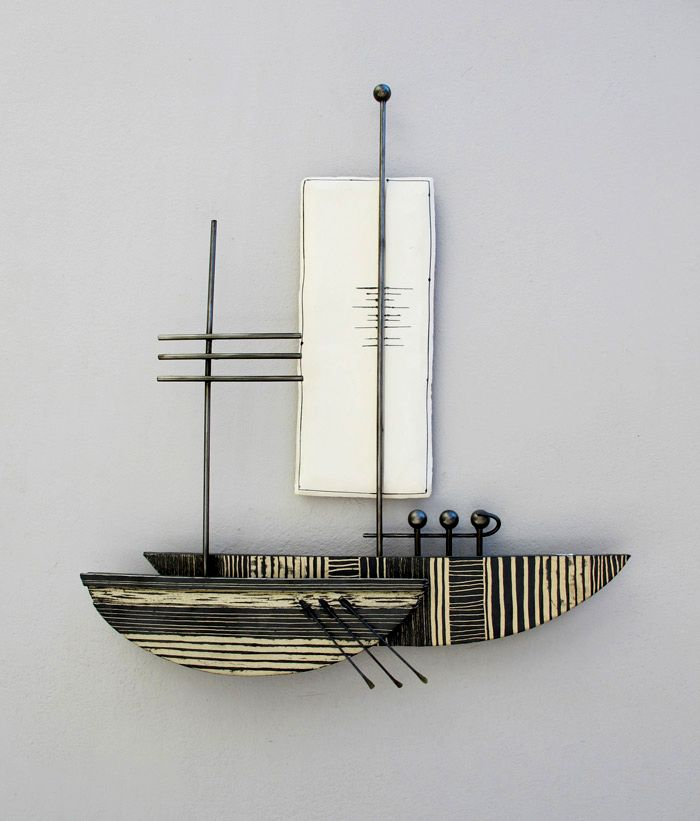 A-54 Small  I   Καράβι Sailboat   55x65cm