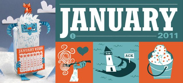 Most fabulous calendars ever! (You can subscribe to get them each month.): Printable Templates, Months Club, Months Graphics Design1, 3D Paper Crafts, Paper Calendar, 3D Calendar, Months Graphicdesign1, Paper Toys, Free Printable Calendar