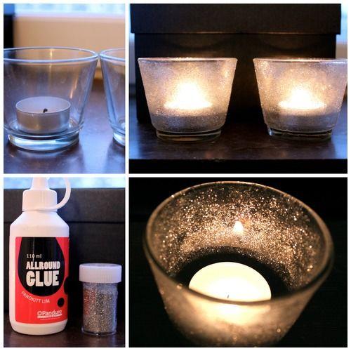 Cute candleholders! So easy to make.