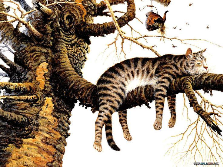 kassis6ltlane: Charles Wysocki's cats