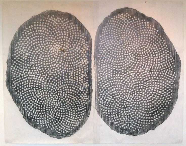 Peter Randall-Page - Graphite on paper