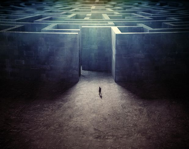 "a conceptual prison of the mind, quote used is: ""You can't 'figure your way out' of the conceptual prison that your mind has created. The mind cannot 'see' outside the mind. Freedom can come only when you leave the entire conceptual framework behind.""  ~ Ed Muzika ~"""