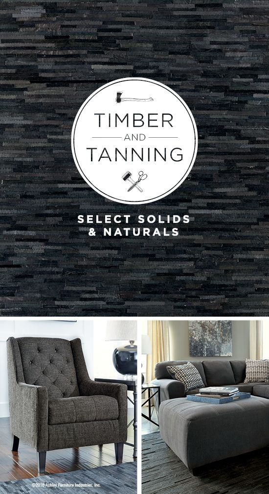 Timber And Tanning®   Select Solids And Naturals   Dark Tones   Leather And  Wood Furniture Styles