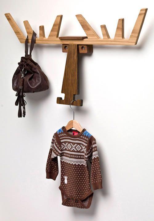 design traveller: Cato, the elk hanger by Pur Norsk