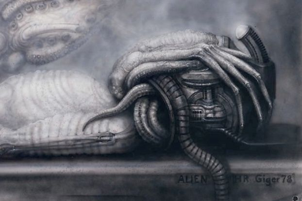"""Discover the terrifying anatomy of H.R. Giger's """"Alien"""" xenomorph and learn where humanity stands in the food chain."""