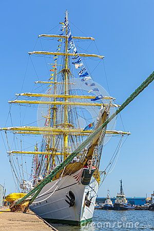 Tall Ship At Dock - Download From Over 24 Million High Quality Stock Photos, Images, Vectors. Sign up for FREE today. Image: 41282803