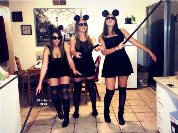 DIY Three Blind Mice Group Halloween Costume