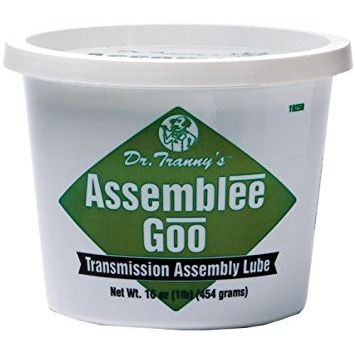 Lubegard 19250 Dr. Tranny Assemblee Goo, Green, Firm Tack Lubricant, 16 oz.