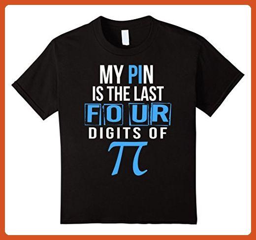 Kids The Last Digit of Pi - Math Humor Men's T-Shirt. Pi Day 2017 6 Black - Math science and geek shirts (*Partner-Link)
