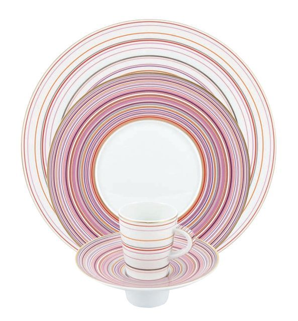 """#Raynaud - Limoges #porcelain - """"Attraction rose"""" collection"""