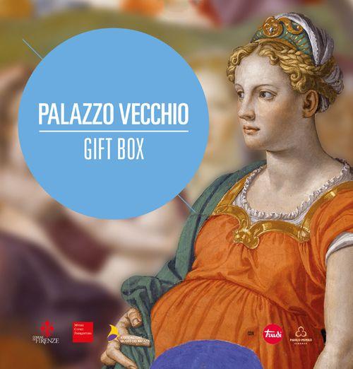 Gift box Palazzo Vecchio Regala Palazzo Vecchio! La Gift Box include un voucher per partecipare a un'attività (a scelta) e un piccolo dono. E' disponibile in due versioni: adulti e famiglie. Il dono è un gioiello Penkino, in argento brunito, per gli adulti o un morbidissimo peluche Trudi, a forma di tartaruga, per i più piccoli.