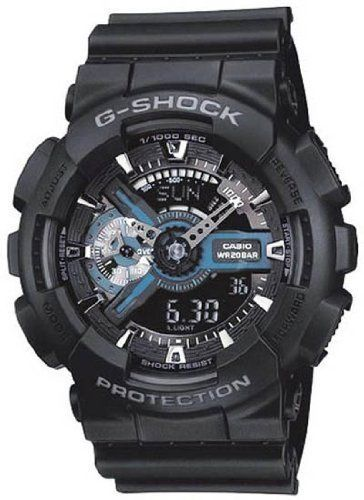 G-Shock X-Large Combination Watch–Military Black at http://suliaszone.com/g-shock-x-large-combination-watch-military-black/