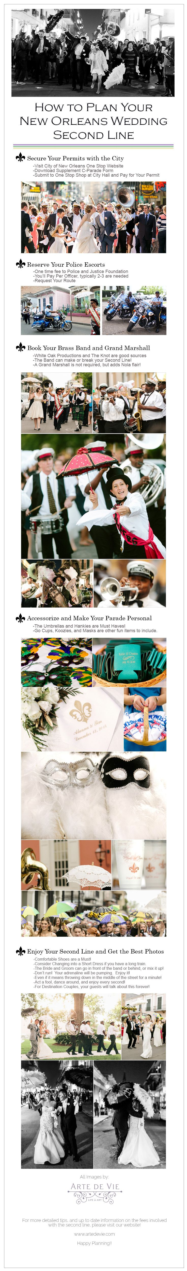 How to Plan Your New Orleans Wedding Second Line by New Orleans Wedding Photographers, Arte De Vie
