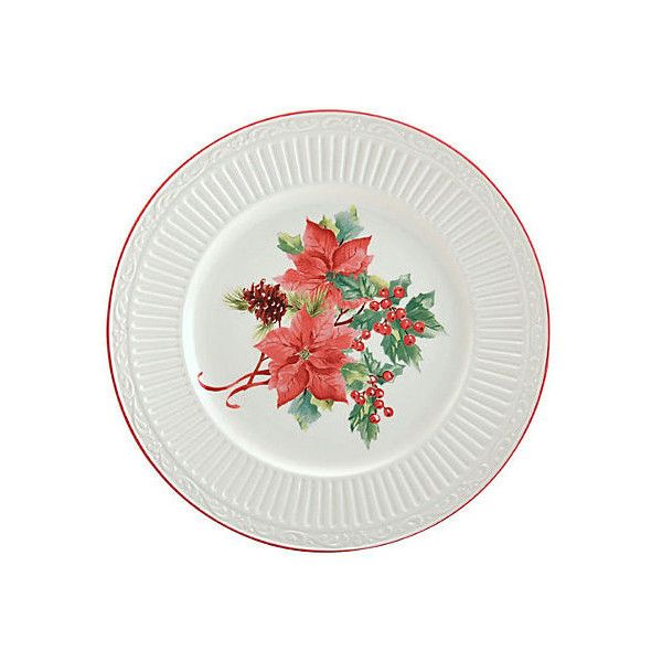 Italian Countryside Poinsettia Plate Bread Plates ($18) ❤ liked on Polyvore featuring home  sc 1 st  Pinterest & 28 best *MIKASA ITALIAN COUNTRYSIDE* images on Pinterest | Mikasa ...