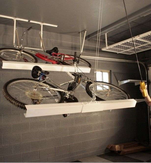 Bike Storage Racks For Garage Ceiling Work In 2018 Pinterest And