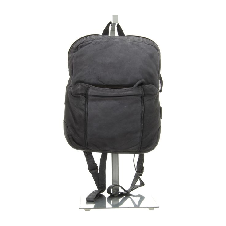 NEU: Voi Leather Design Handtaschen Rucksack - 21084 SZ - schwarz -