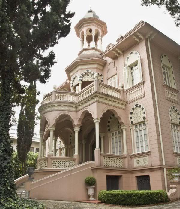 O Palacete Rosa, construído pela família Jafet