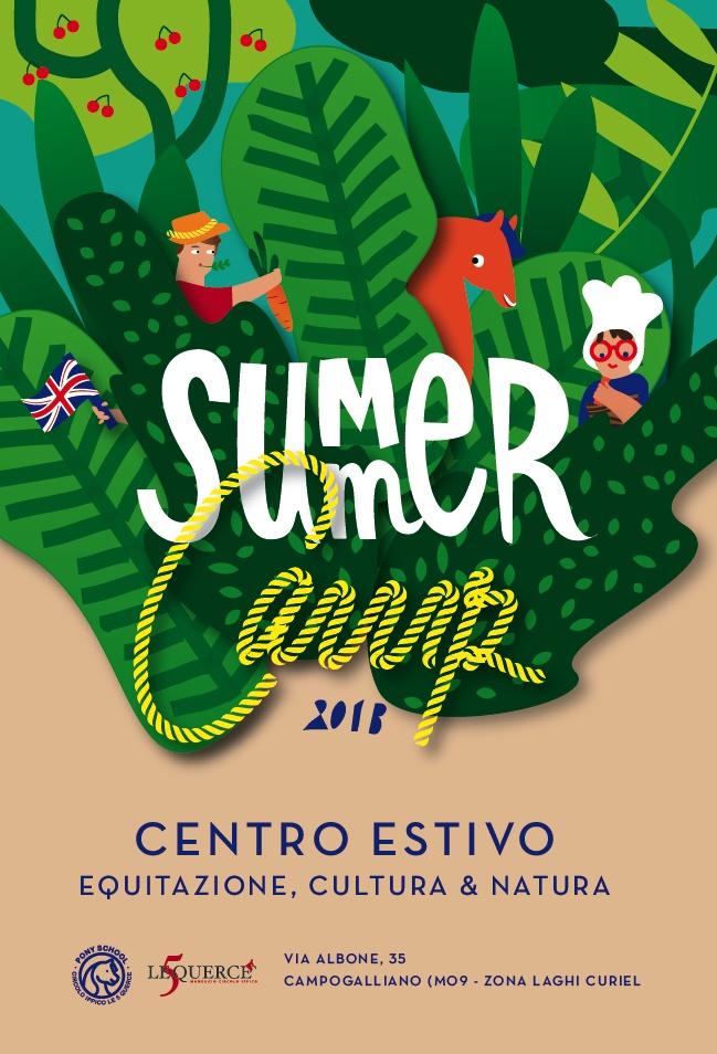 Best Camp Images On   Summer Camps Flyer Design And