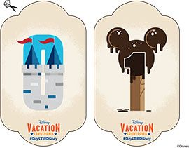 DIY: Create-Your-Own Walt Disney World Vacation Countdown - Free printable numbers to use