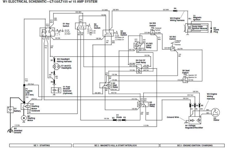lx176 wiring diagram john deere lt133 wiring diagram | weekend freedom machines ... auto coil wiring diagram #10