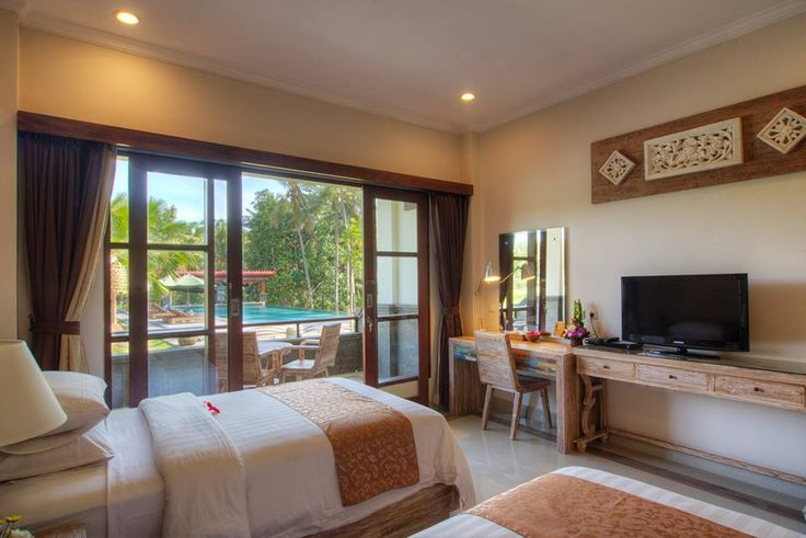 Holiday in Bali, Twin room at The Artini Resort Ubud