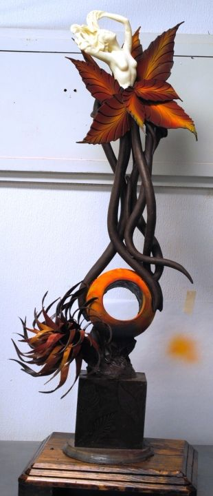 Sculpting with Chocolate