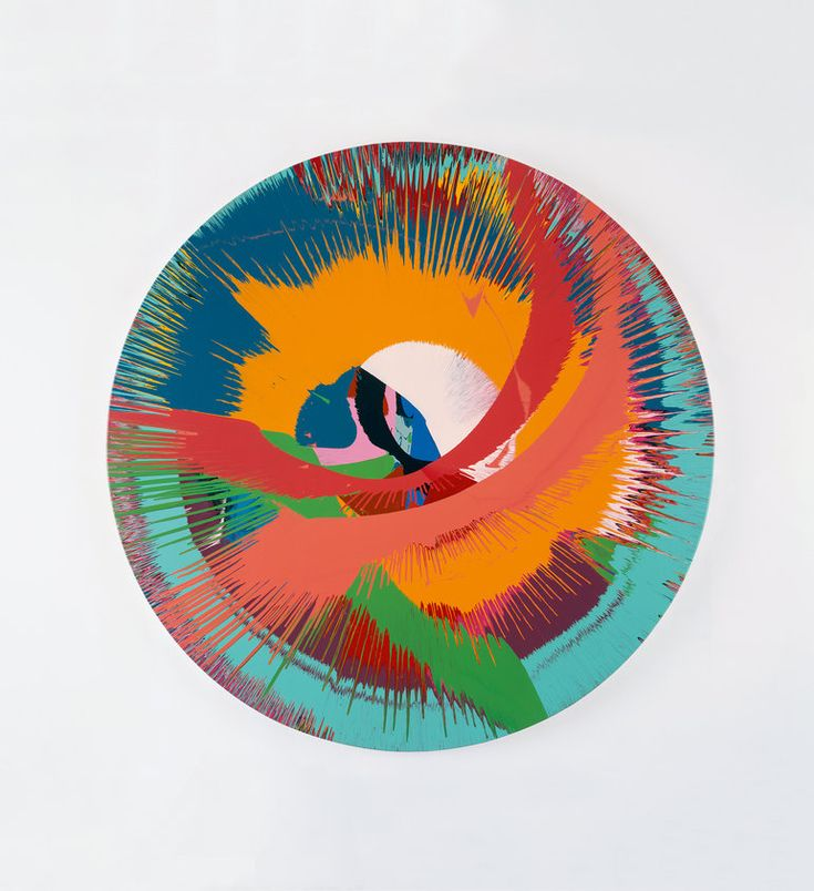 Damien Hirst - Beautiful c painting, 1996