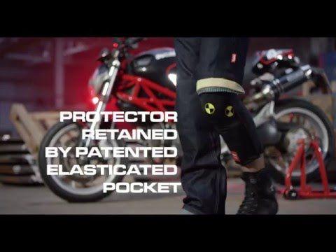 4SR PATENT! BEST riding jeans ever - Clever retro kevlar jeans 60s