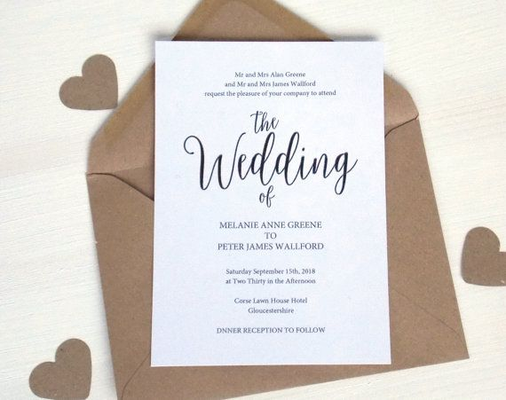 20 best wedding invitation templates images on pinterest wedding printable wedding invitation template by digitaldollydesigns stopboris Choice Image