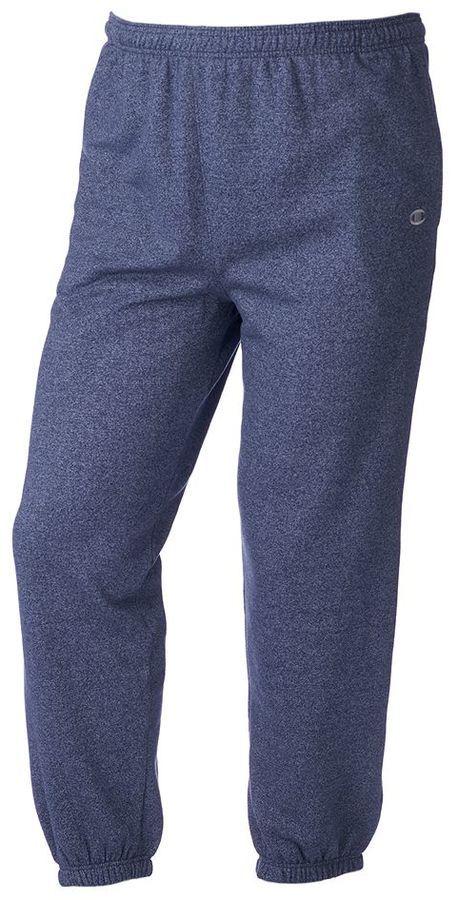 Big & Tall Champion Marled Performance Fleece Athletic Pants