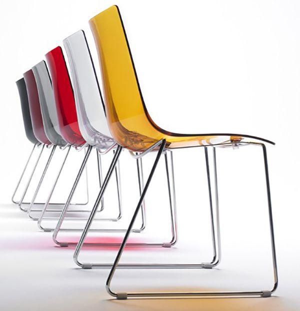 CONTRACT ESSENTIALS | A stackable version of the Zebra chair. #Designicons #Italianfurniture #Interiordesign
