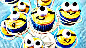 #minions #cucakes #eggless #tasty #everyones favourite #yellow and #blue #fuuny