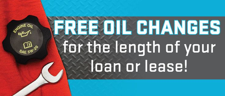 Going on now through January 4, 2018, we're offering free oil changes when you start a new auto loan or lease! 🎉 Click to read more!
