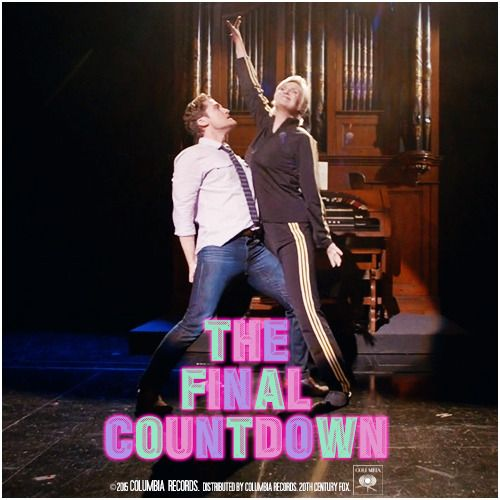 6x10 The Rise and Fall of Sue Sylvester | The Final Countdown Alternative Cover