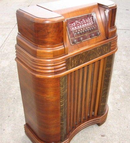 79 Best Console Radios Vintage Images On Pinterest