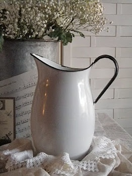 White pitcher ..dont know why but I love pitchers...