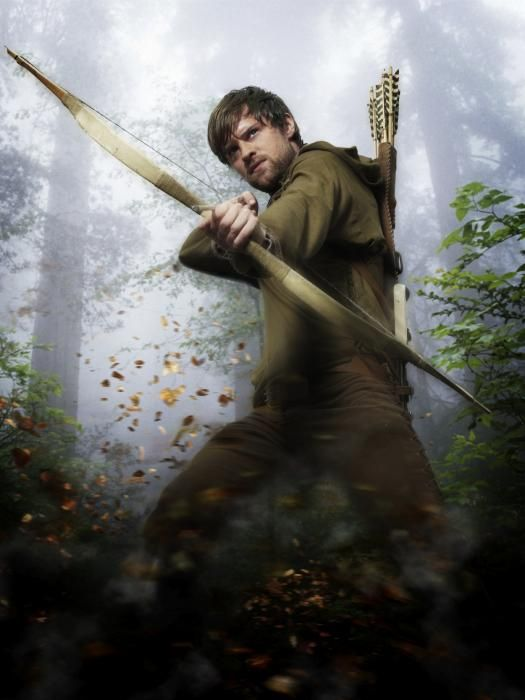 "Robin Hood (spelled Robyn Hode in older manuscripts) is a heroic outlaw in English folklore, a highly skilled archer and swordsman. Although not part of his original character, since the beginning of the 19th century he has become known for ""robbing from the rich and giving to the poor""."