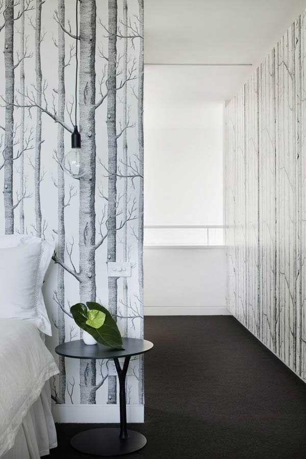 Wall Paper  Tree Design