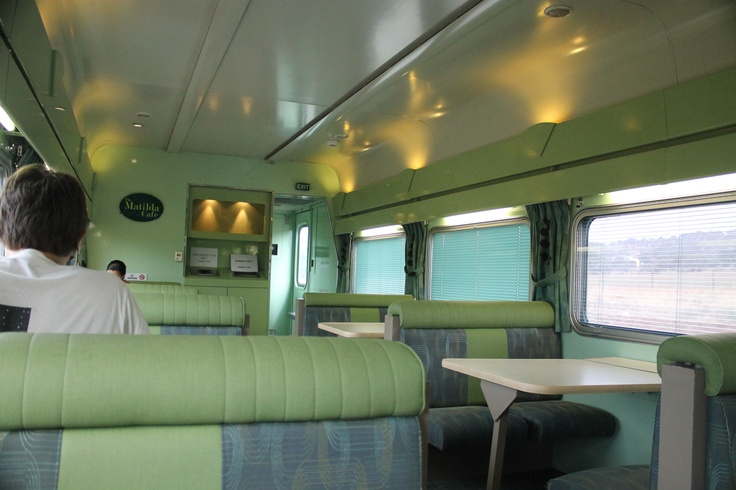 Matilda Cafe Dining Car for Red Service - pretty good prices for some pretty good food.