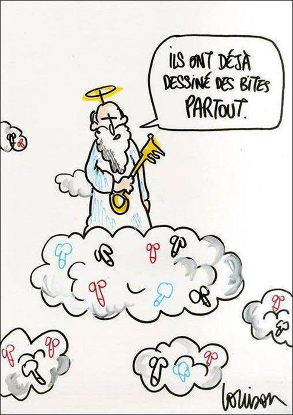 Gilles RAVEAUD » Blog Archive » Les dessins en soutien à Charlie Hebdo