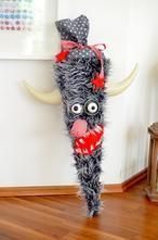 Urige Monster Schultüte zum selber basteln