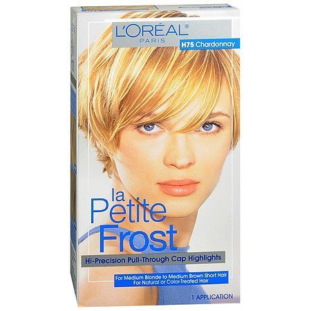 L'Oreal Paris La Petit Frost Hi-Precision Pull-Through Cap Highlights - 1 ea