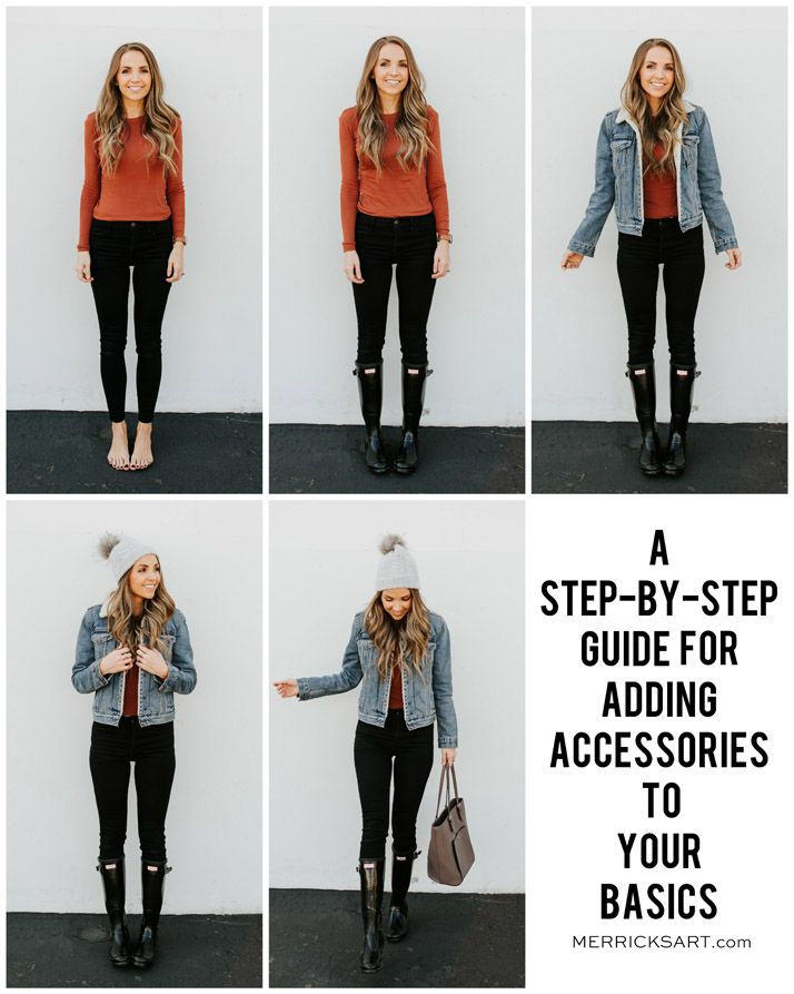 A Step By Step Guide for Adding Accessories to an Outfit