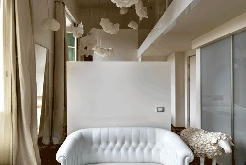Clouds room  Maison Moschino   Milan