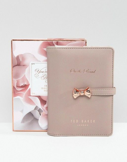 Ted Baker Travel Document Holder perfect for our honeymoon and every trip after that! Also perfect for everyday use! @tedbaker #wedwithted