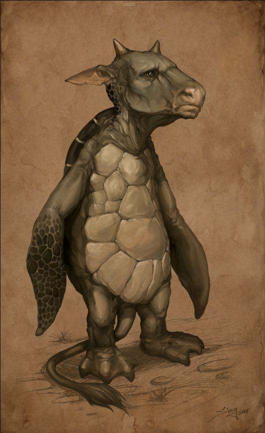 The Mock Turtle by Zeeksie.deviantart.com on @deviantART